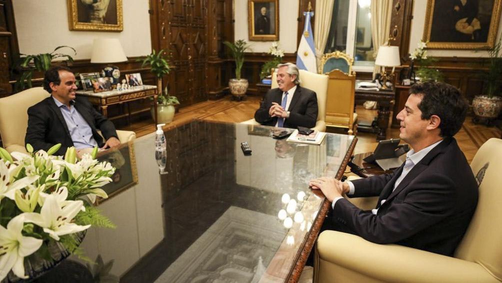 """Fernández destacó que el triunfo de Llamosas fue el """"resultado de la unidad"""""""