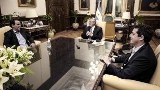 El Presidente recibió al intendente de Río Cuarto, reelecto en las elecciones del domingo