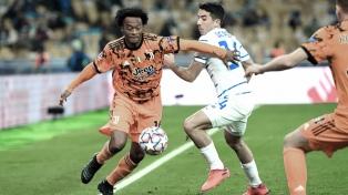 Juventus mostró su supremacía ante el Dínamo Kiev