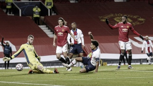 """PSG le ganó al """"United"""" como visitante y el grupo se define en la última fecha"""