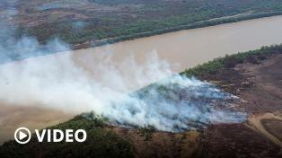 Declaran la emergencia ambiental en la zona del Delta del Río Paraná