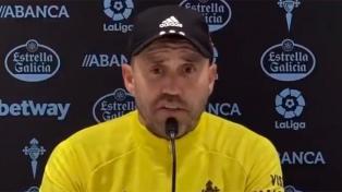 """Celta de Vigo, con """"Chacho"""" Coudet, ganó su segundo partido seguido"""