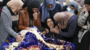Conmoción por la muerte de un adolescente palestino baleado por el Ejército de Israel