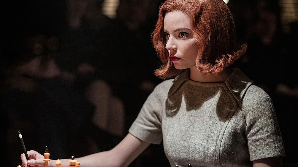 """La actriz británico-argentina Anya Taylor-Joy, protagonista de la exitosa miniserie de Netflix """"Gambito de dama""""."""