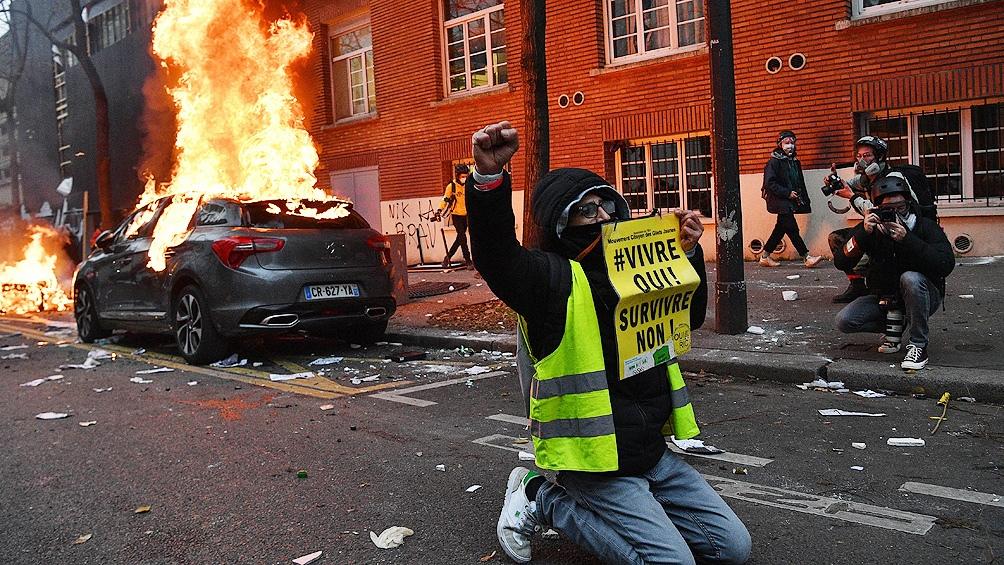 Nuevas protestas en Francia contra la Ley de Seguridad y la violencia policial