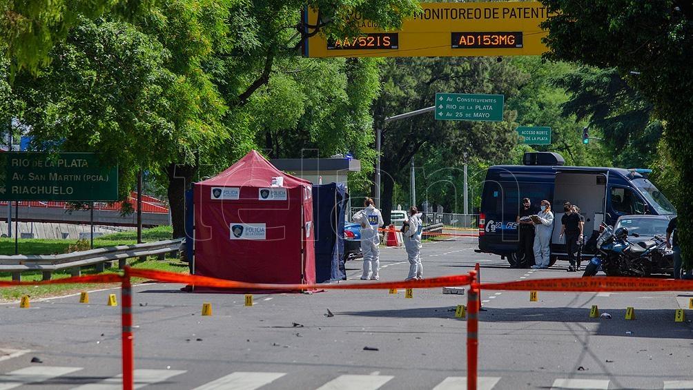 El hecho se registró a las 7.10 en la intersección de la colectora de avenida General Paz y Concordia.