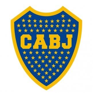 E escudo de Boca.