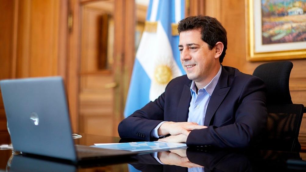 """Eduardo """"Wado"""" de Pedro, destacó que el proyecto contribuirá a la """"reactivación de la economía"""""""