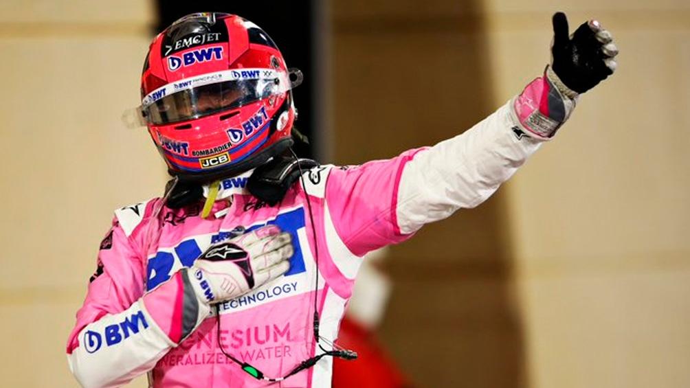El oriundo de Guadalajara, de 30 años y que todavía no tiene garantizada su butaca en la Fórmula 1 durante la temporada 2021.