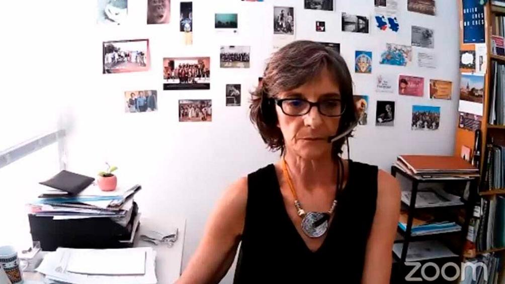 Patricia Berardi integra el equipo de antropólogos y testimonio ante el Tribunal de La Plata.