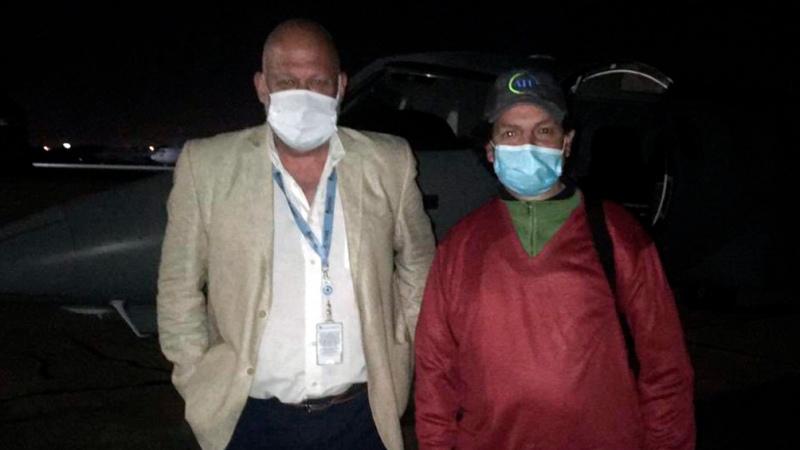 Tras las negociaciones diplomáticas con el gobierno de Arce, Facundo Molares regresó al país