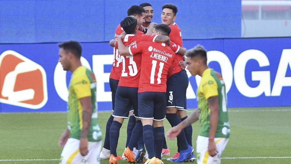 Independiente venció por 1 a 0 a Defensa y Justicia
