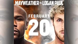 Mayweather volverá al ring con una exhibición ante el youtuber Logan Paul