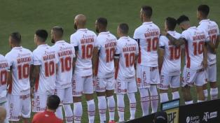 Argentinos Juniors le brindó un emotivo homenaje al hijo pródigo