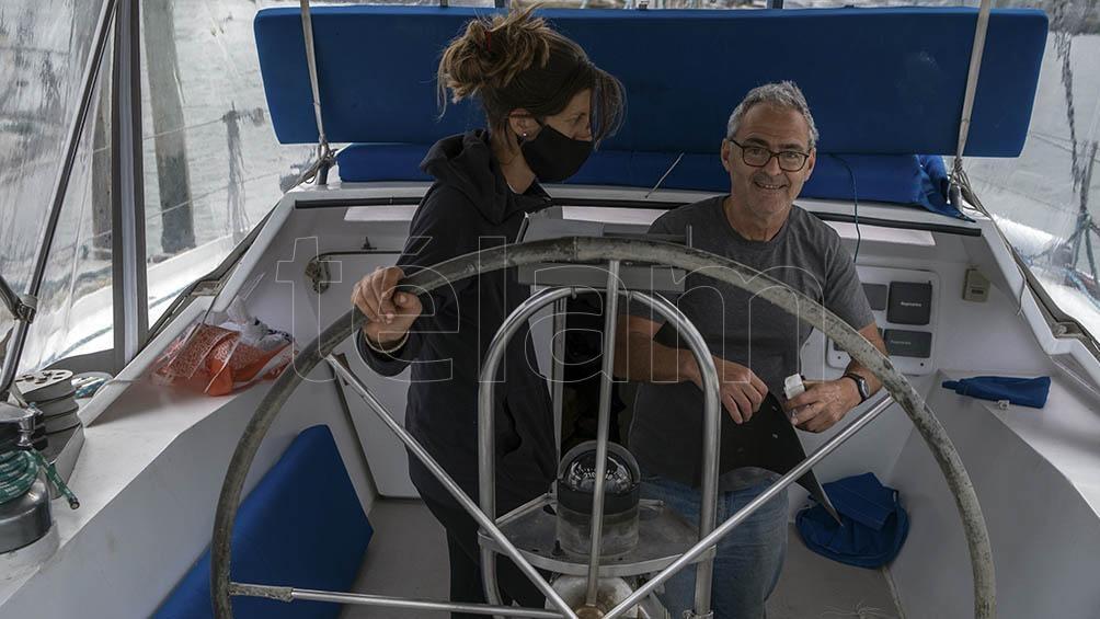 El proyecto Caoba-Rumbo Sur se convirtió en una iniciativa compartida por una tripulación de más de 30 personas, que irán rotando.