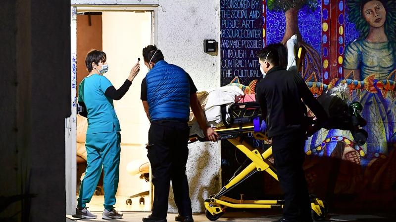 Estados Unidos vuelve a romper el récord de hospitalizaciones por coronavirus