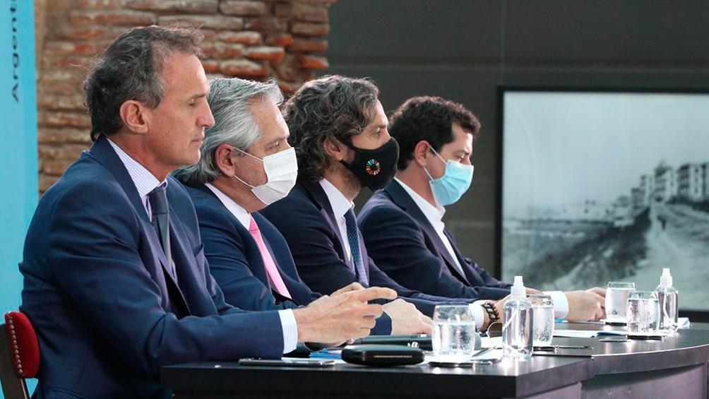 Fernández encabezó el acto de inauguración de obras en las provincias en el Museo del Bicentenario.