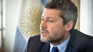 """Matías Lammens: """"La Copa América no corre ningún riesgo"""""""