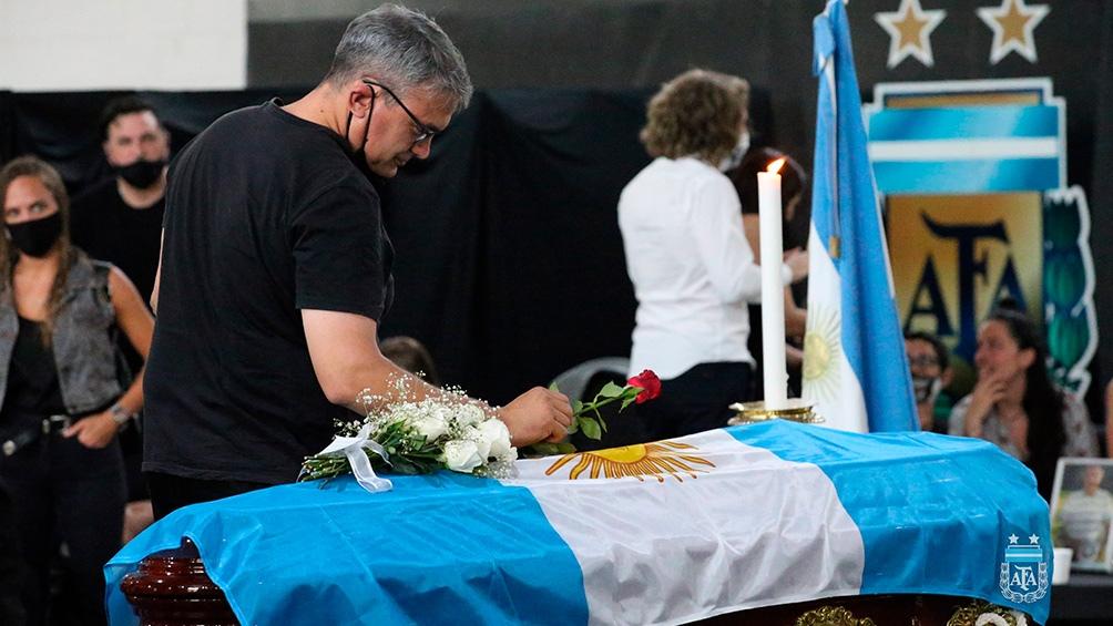 Sabella será sepultado en un cementerio de la ciudad de La Plata