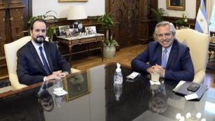 El Presidente recibió al embajador argentino en Italia