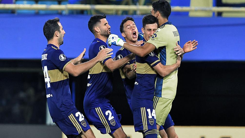 Boca llegó a cuartos de final por penales y enfrentará a Racing