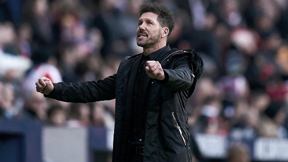 Atlético es dirigido por Diego Simeone