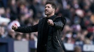 """Simeone y el clásico ante el Real Madrid: """"Son tres puntos y quedará mucho por delante"""""""