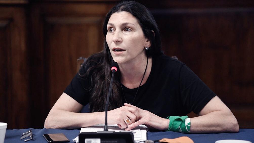 Mónica Macha, presidenta de la comisión de Mujeres y Diversidad de la cámara baja.