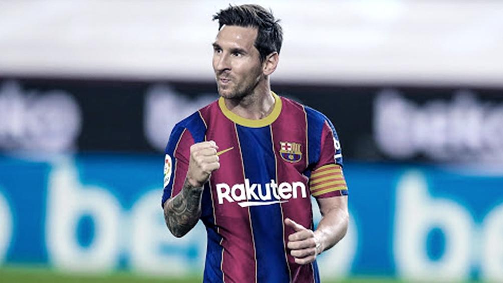 Messi había querido abandonar el club el año pasado pero una cláusula del contrato se lo impidió.