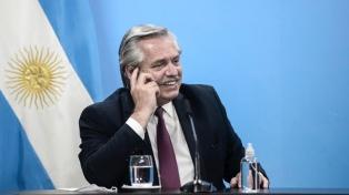 """Fernández ponderó acciones contra el Covid-19, llamó a la unidad y dijo que se siente """"satisfecho"""""""