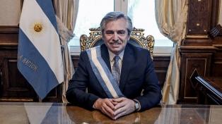 """""""Positivo balance"""" de Alberto Fernández tras el primer año de gestión"""