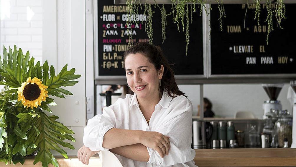 """Narda Lepes, pionera en el arte de """"comer sano y comer rico""""."""