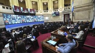 El Senado define si gira el proyecto al mismo número de comisiones que en 2018