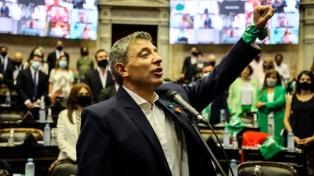 Juró Giordano como diputado nacional y completará el mandato de Romina del Plá