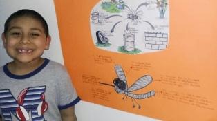 Lanzan una campaña de prevención del dengue elaborada por niños y niñas