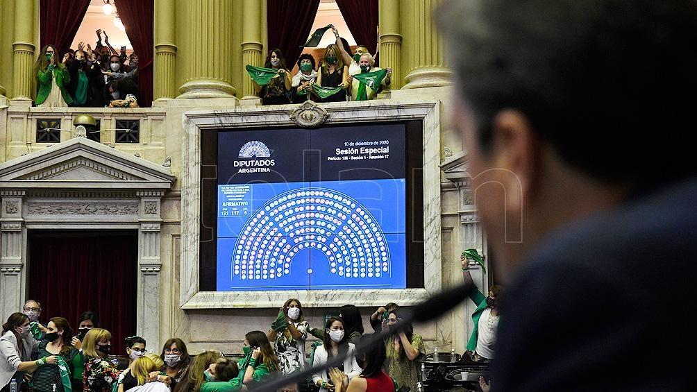 La Cámara de Diputados le dio media sanción a la iniciativa el 11 de diciembre.