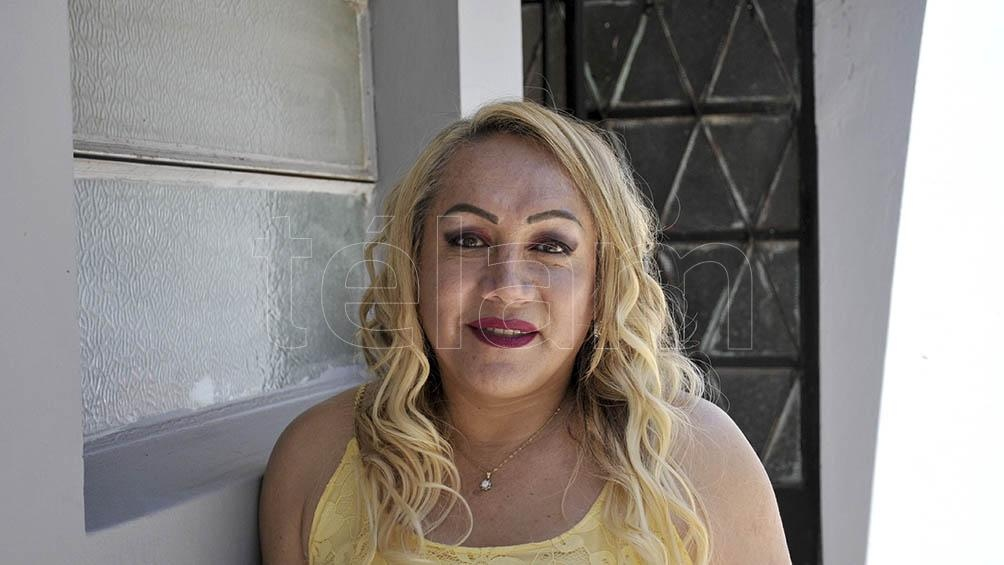 Claudia Vásquez Haro, presidenta de la organización Otrans, activista trans y comunicadora social.