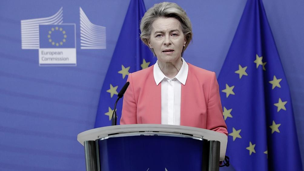 La presidenta de la Comisión Europea, Ursula von der Leyen, dialogó con el primer ministro Boris Johnson.