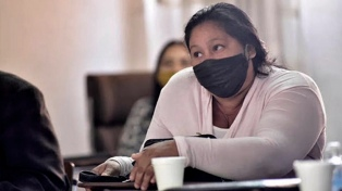 """Detuvieron nuevamente a María Ovando y el equipo de Derechos Humanos dice que """"es ilegal"""""""