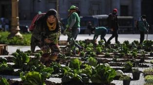 Lanzan el Registro de Trabajadores de la Economía Popular, junto a dirigentes de la UTEP