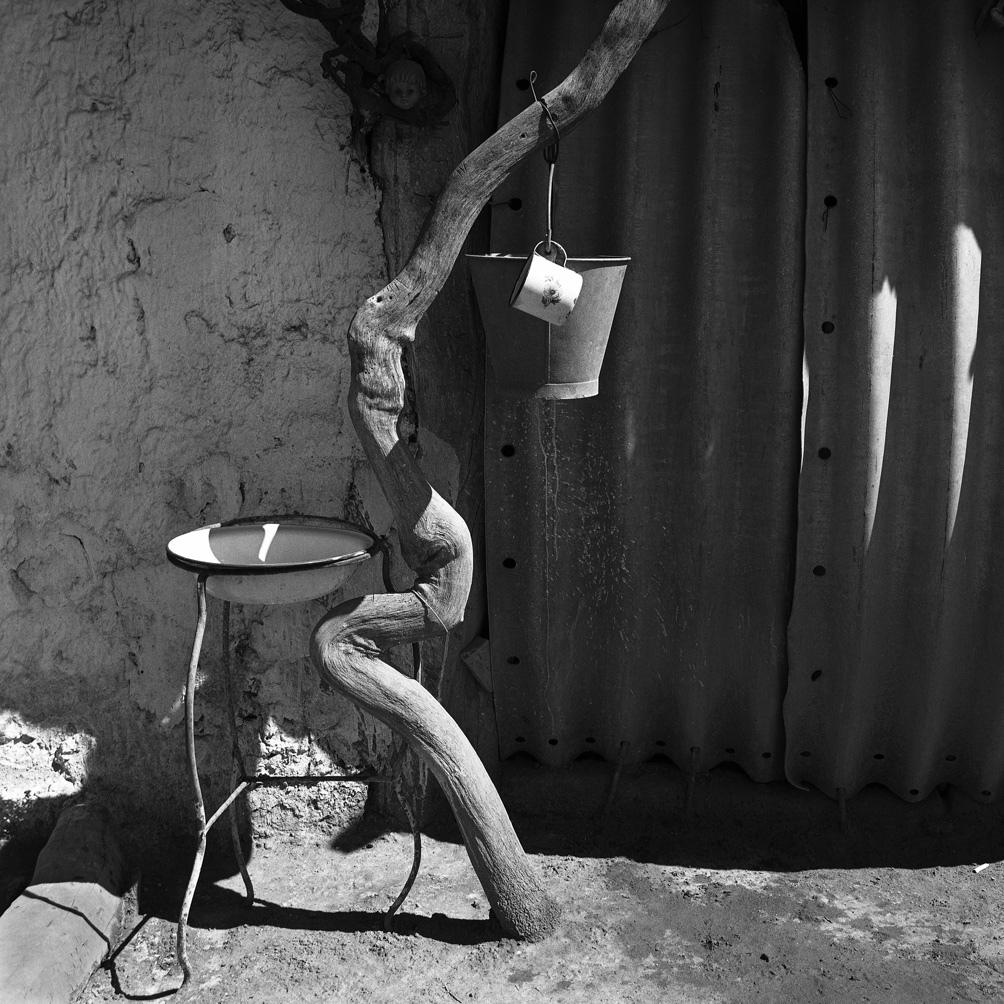 """""""Tronco y lavabo"""", San Juan, 1984."""