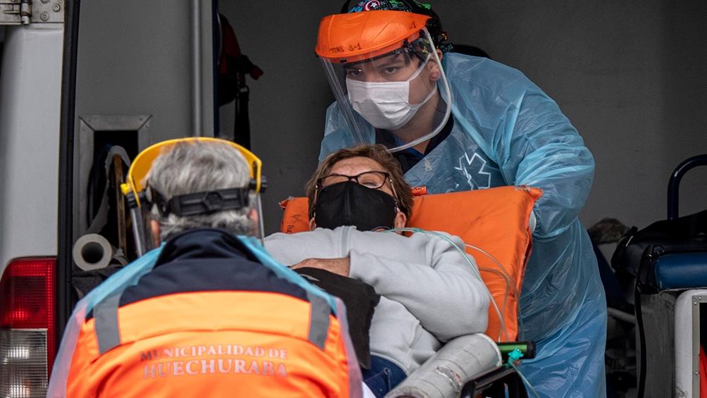 Chile reportó 3.583 casos nuevos y 21 personas fallecidas