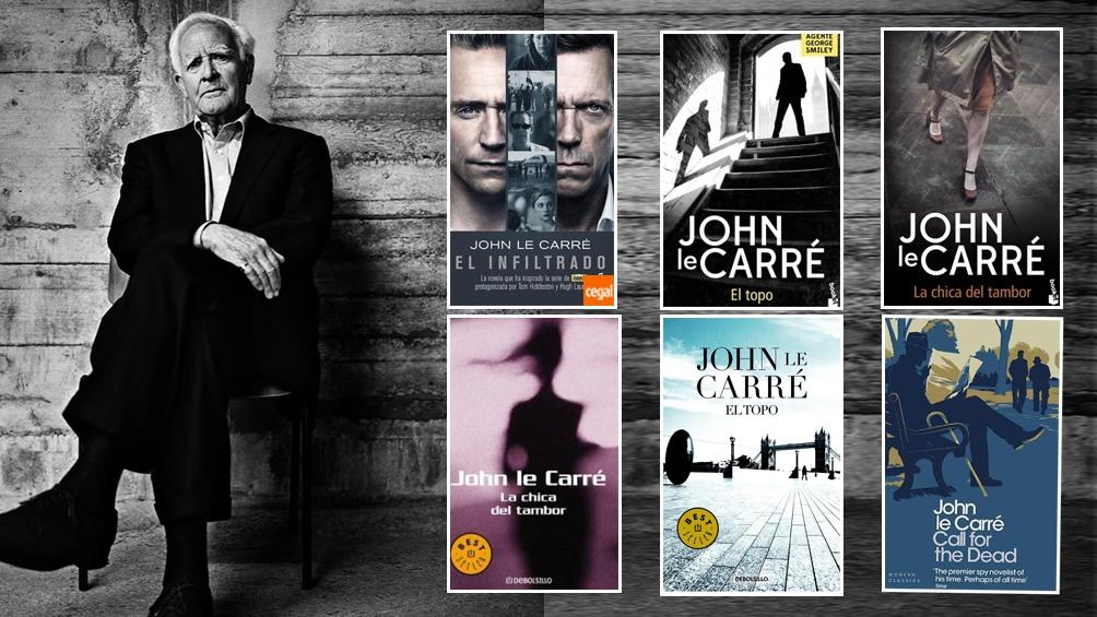 Le Carré se hizo conocido por ficcionalizar algunas de sus experiencias como espía.