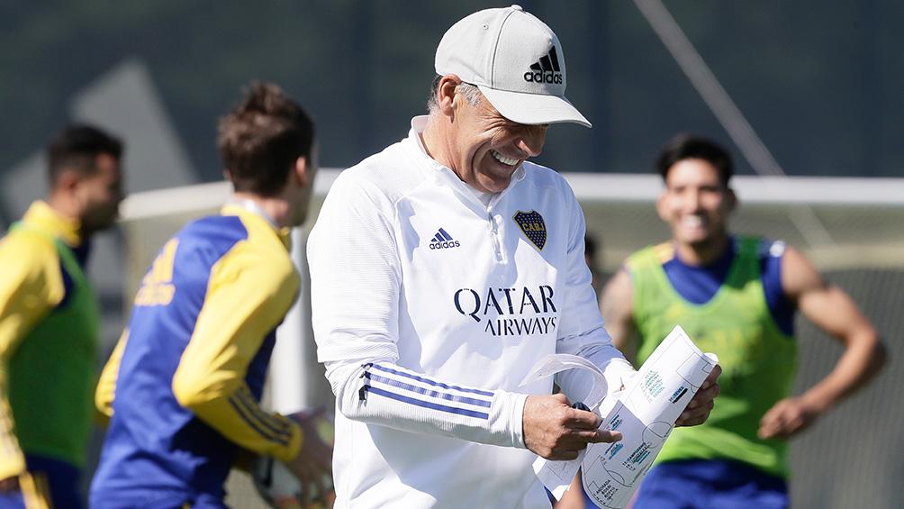 Boca vuelve a practicar luego de haber avanzado a las semifinales de la Copa Libertadores