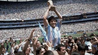 Diego en 1986: la gloria eterna.