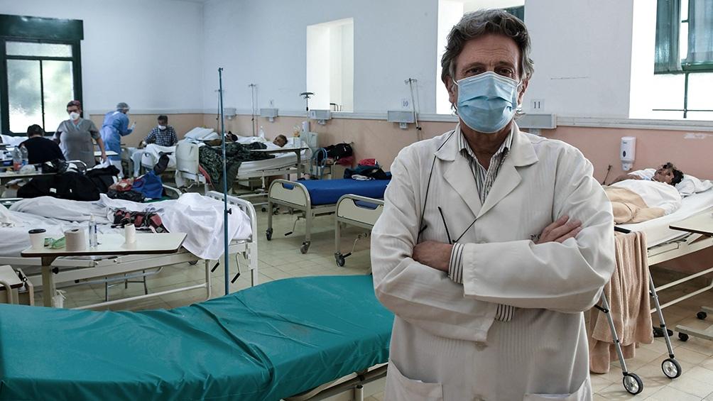"""El médico infectólogo del Hospital Muñiz, Tomás Orduna, sostuvo hoy que las medidas son  """"bien restrictivas"""""""
