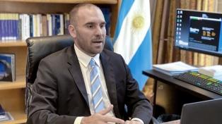 Guzmán y Pesce participarán de la cumbre de ministros de Finanzas del G20 en Italia