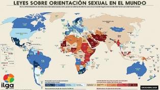 Tres de cada diez países que integran la ONU siguen penalizando la homosexualidad