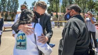 Rossi encabezó el homenaje a los tripulantes jujeños del ARA San Juan ascendidos post morten