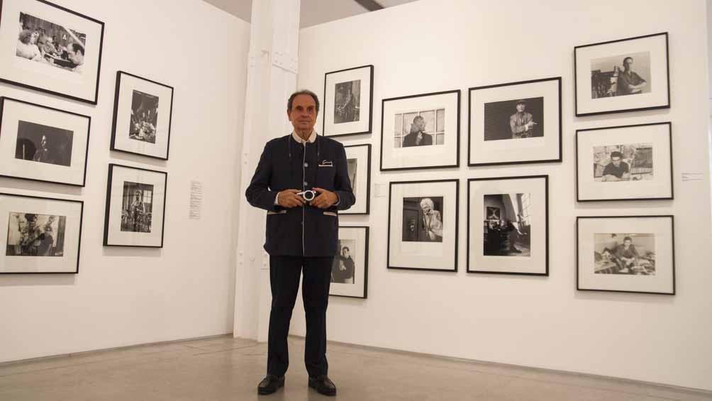 Aldo Sessa donó parte de sus fotografías al Museo de Arte Moderno.